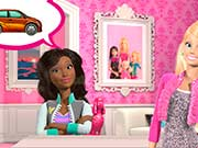 Barbie Car Salon