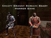 Creepy Granny Evil Scream Scary Freddy