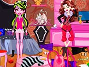 Monster High Messy Room