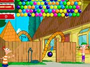 Phineas and Ferb Bubbleshooter