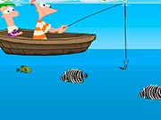 Phineas y Ferb Pesca