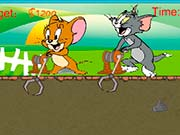 Tom y Jerry de buscar oro
